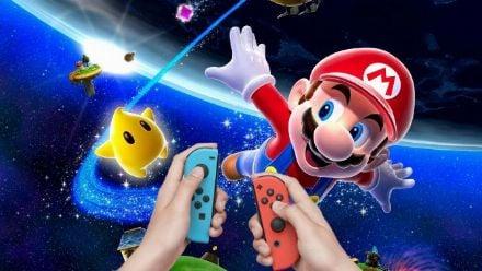 Vid�o : Super Mario 3D All-Stars : Les Joy-Con dans Super Mario Galaxy