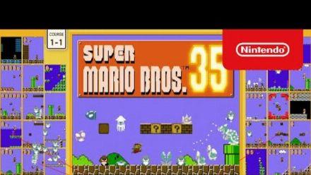Vid�o : Super Mario Bros. 35 : Trailer d'annonce sur Switch