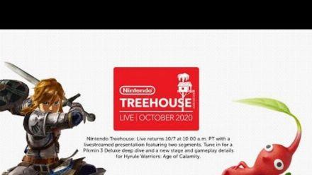 Nintendo Treehouse Live : Pikmin 3 Deluxe et Hyrule Warriors L'Ere du Fléau