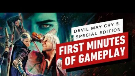 vidéo : The First 8 Minutes of Devil May Cry 5 Special Edition - Vergil 4K Gameplay on PS5 (IGN)