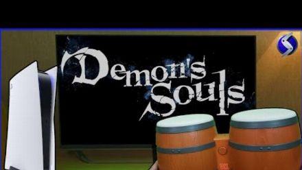 Vid�o : Demon's Souls : Super Louis 64 y joue aux bongos DK