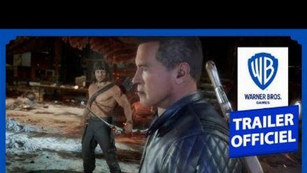 Vid�o : Mortal Kombat 11 Ultimate : Combat Rambo vs Terminator