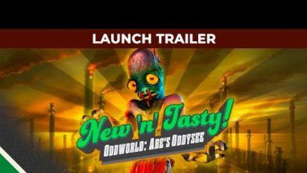 Vid�o : Oddworld New 'n' Tasty l Launch Trailer l Microids & Oddworld Inhabitants