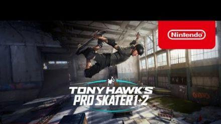 Vid�o : Tony Hawk's Pro Skater 1 + 2 - Pre-Order Trailer - Nintendo Switch | E3 2021