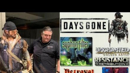Vid�o : DAYS GONE DIRECTOR/CREATOR- JOHN GARVIN INTERVIEW! (vidéo de David Jaffe)