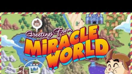 vid�o : Alex Kidd in Miracle World DX - Greetings From Miracle World Trailer