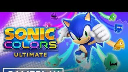 vidéo : Sonic Colors Ultimate : Gameplay de l'E3 2021 (1/2)