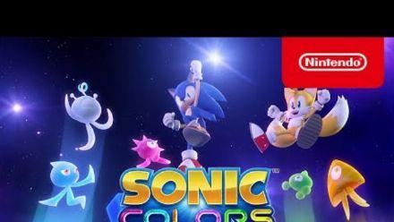 Vid�o : Sonic Colors Ultimate : Trailer d'annonce sur Switch