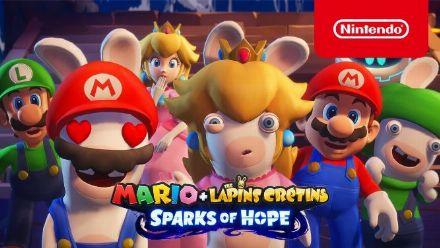 Vidéo : Mario + Lapins Crétins Sparks of Hope se dévoile avec un trailer