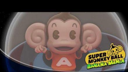 Vid�o : Super Monkey Ball Banana Mania | Announce Trailer