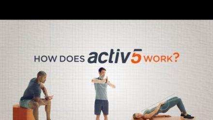 Vid�o : Activ5 : How does Activ5 work?