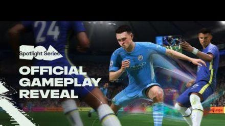 Vid�o : FIFA 22   Official Gameplay Reveal   EA Play Spotlight (REPLAY)