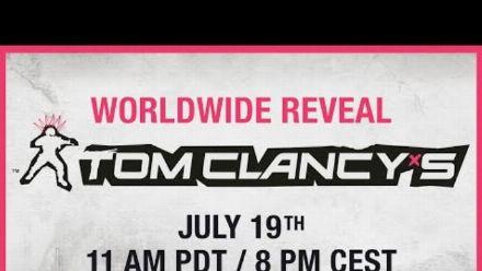 Vid�o : Annonce Mondiale du nouveau jeu Tom Clancy