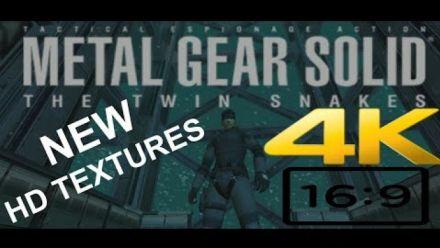 Vid�o : Metal Gear Solid Twin Snakes ESRGAN (vidéo de iamthegr34td3str0y3r)