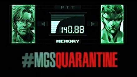 """Vidéo : Metal Gear Solid : Vidéo """"MGS Quarantine"""" de Jordan Vogt-Roberts"""