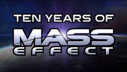 Mass Effect : La vidéo anniversaire des 10 ans