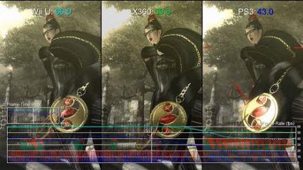 Bayonetta 1 Wii U vs Xbox 360 vs PS3