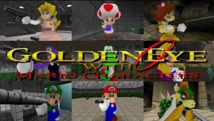 GoldenEye 007 : Le mod Mario 64