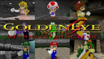 Vidéo : GoldenEye 007 : Le mod Mario 64