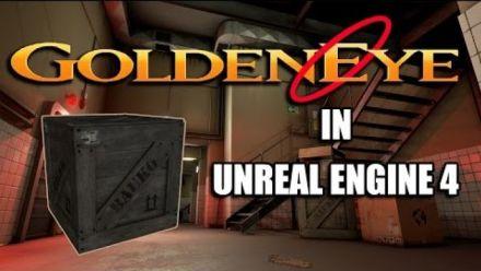 La map Facility de GoldenEye 007 sous Unreal Engine 4