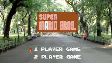 Super Mario Bros en réalité augmentée, la vidéo