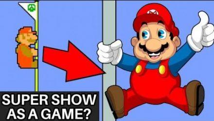 Super Mario Bros. Super Show transformé en jeu vidéo