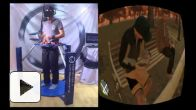 GTA 4 avec l'Oculus Rift, le Cyberith Virtualizer et une Wiimote