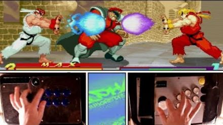 Vidéo : Street Fighter Alpha : Il joue seul au mode Dramatic Battle