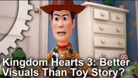 Kingdom Hearts III vs Toy Story, la vidéo comparative