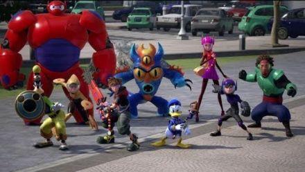 Vidéo : Kingdom Hearts III - Tokyo Game Show Big Hero 6 - version longue