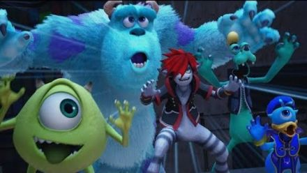 Kingdom Hearts III : Monster Inc. Trailer