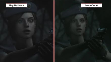 Resident Evil : PS4 vs. GameCube - comparatif graphique