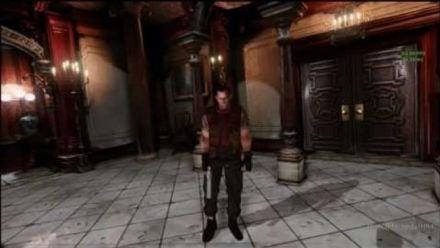Resident Evil Rebirth en vue à la première personne