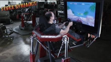 Vid�o : OutRun Classique sur un simulateur Force Dynamics 401CR
