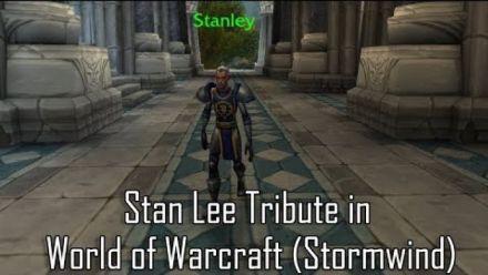 Vidéo : Stan Lee Tribute (vidéo de Wowhead)