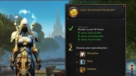 World of Warcraft - Boost lvl 90