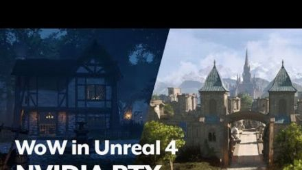 WoW in Unreal 4 with Nvidia RTX Ray Tracing (Daniel L)