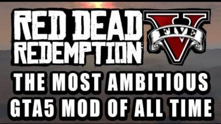 Vid�o : Red Dead Redemption V : Mod GTA V annoncé puis retiré par Rokstar