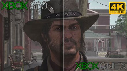 Vid�o : Red Dead Redemption : Notre comparatif Xbox One X (4K) / Xbox 360