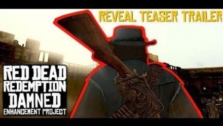 Red Dead Redemption Damned Enhancement Project Reveal Teaser Trailer (GamingDamned)