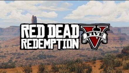 Red Dead Redemption in GTA V : Teaser Trailer UHDGAming
