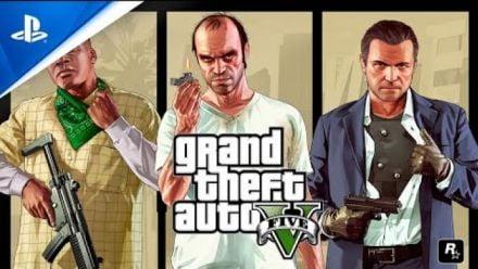 Vid�o : Grand Theft Auto V : Trailer d'annonce PS5