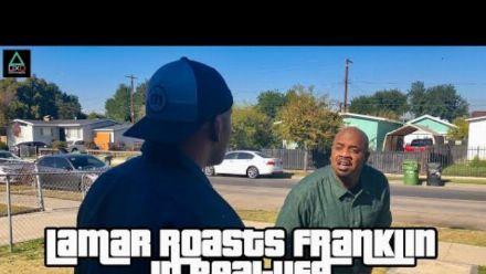 vidéo : GTA V : Lamar roasts Franklin en vrai