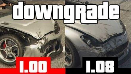 GTAV DOWNGRADE | 1.08 VS 1.00 | Comparison