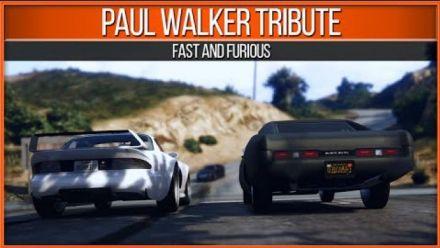 GTA V - Tribute to Paul Walker