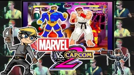 Vid�o : Marvel vs Capcom 2 à capella