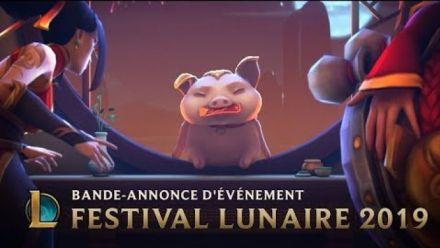 La fortune sourit aux chanceux | Skins du Festival lunaire 2019 - League of Legends