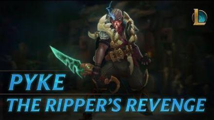 Pyke: The Ripper's Revenge | Champion Trailer - League of Legends