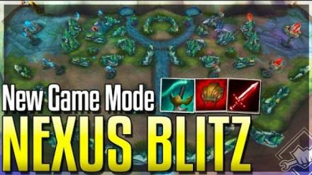 League of Legends : NEW GAME MODE: NEXUS BLITZ