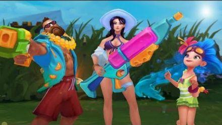 Faites un break au soleil | Bande-annonce de la Fête à la piscine 2018 - League of Legends